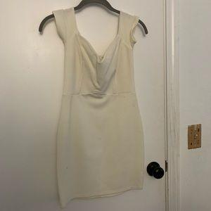 Fashion nova over the shoulder right dress